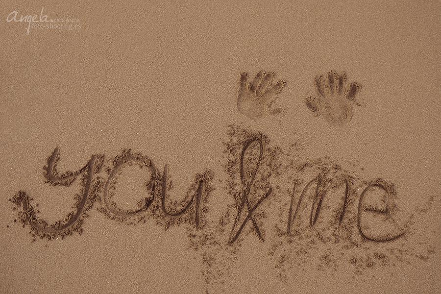 Sandbild you & me