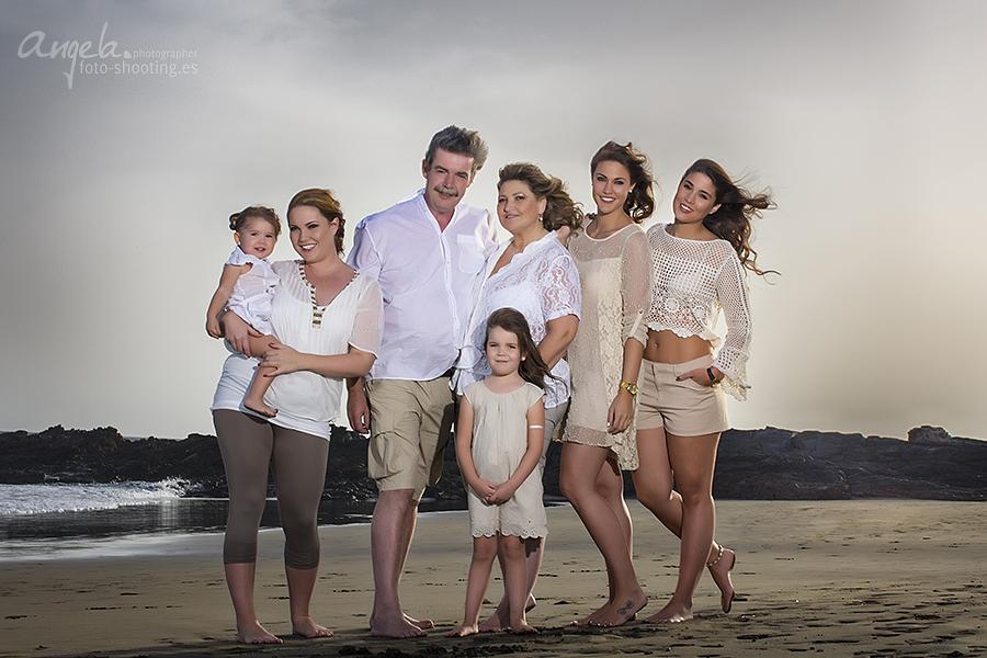grosse Familie