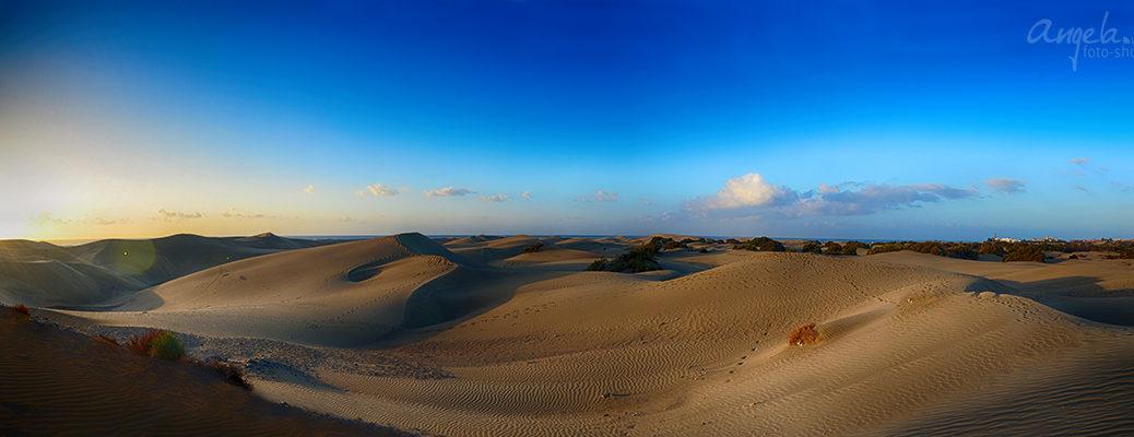 die Dünen in Maspalomas - Landschaftsbild